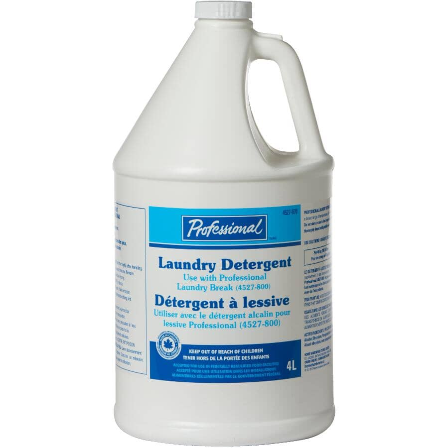 PROFESSIONAL:4L High Efficiency Concentrated Laundry Detergent