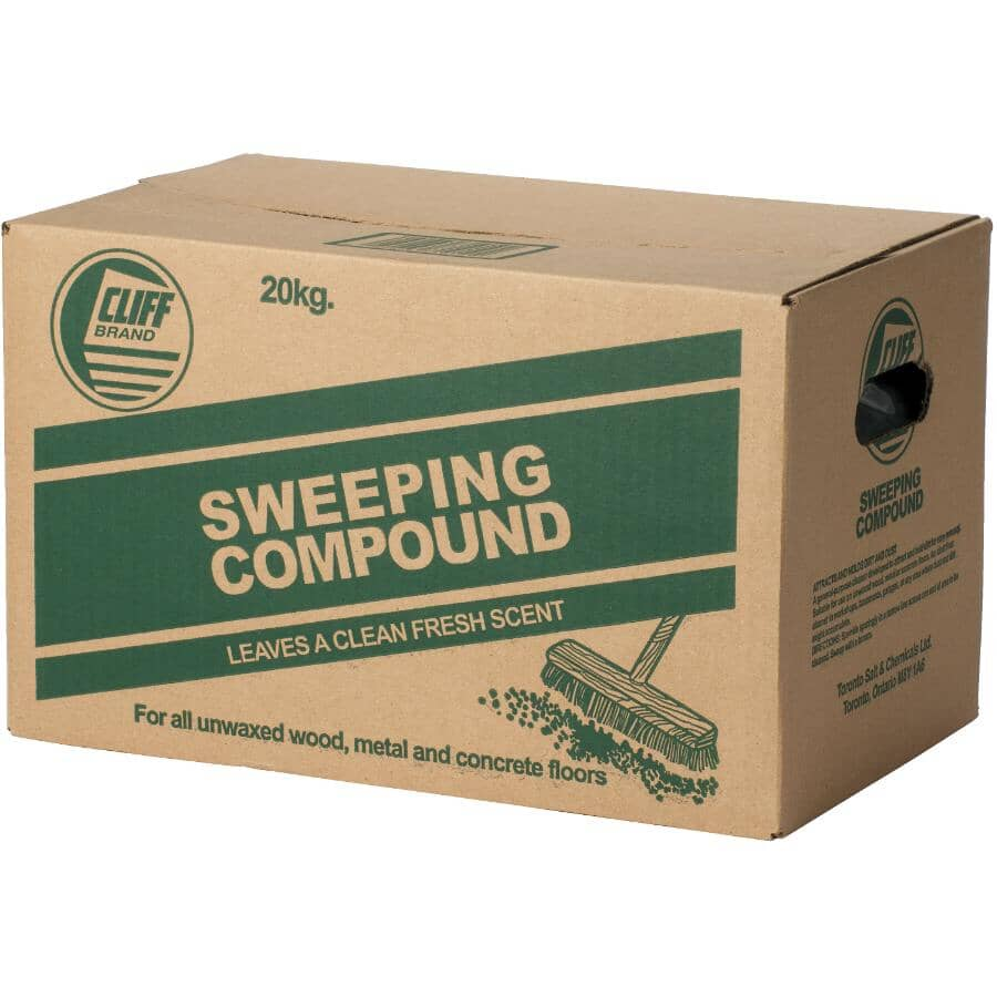 CLIFF:Sweeping Compound - Fresh Scent, 20 kg Bag