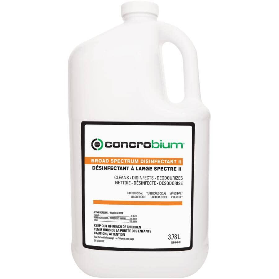 CONCROBIUM:Recharge de désinfectant à large spectre II, 3,78 L
