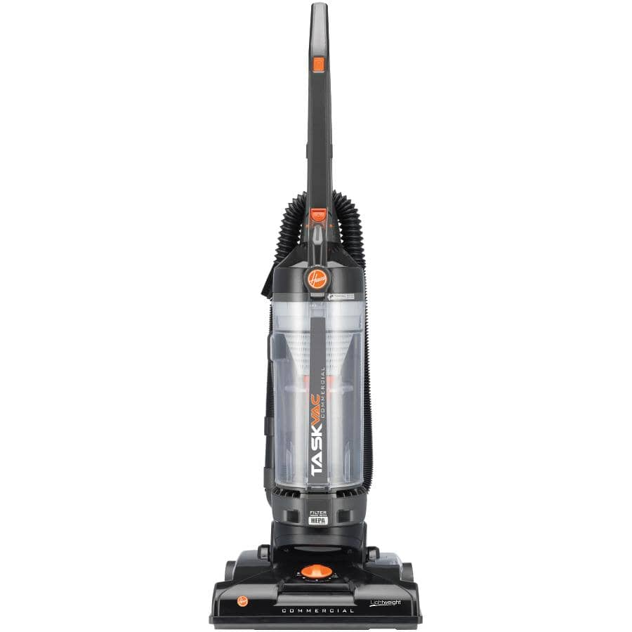 HOOVER:Light Weight Bagless Commercial Upright Vacuum