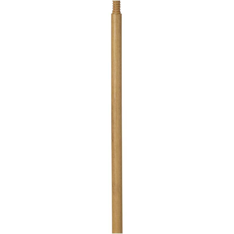 """MULTI BROSSES:54"""" Lacquered Broom Handle - with 15/16"""" Thread"""