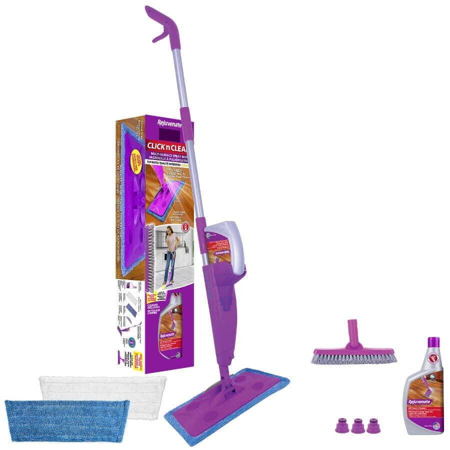 REJUVENATE:Click N' Clean Spray Floor Mop