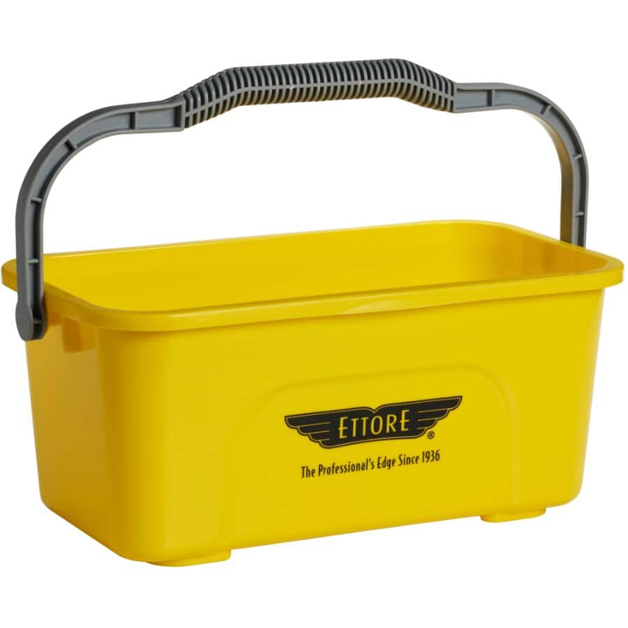 ETTORE:3 Gal Compact Pail - Yellow
