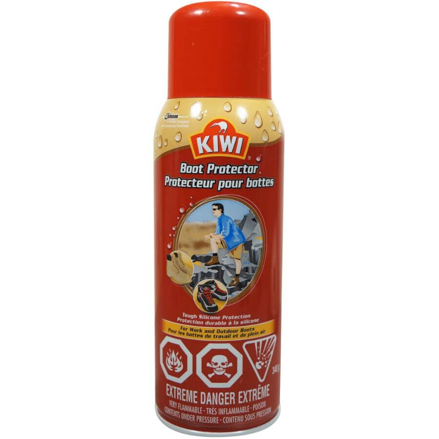 KIWI:Tough Silicone Spray Boot Protector - for Work & Outdoor Boots, 297 g