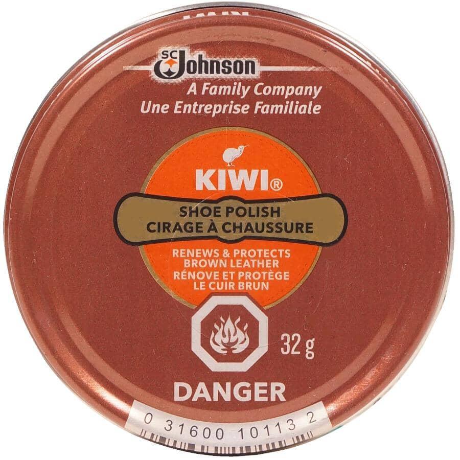 KIWI:Shoe Polish Paste - Dark Brown, 32 g