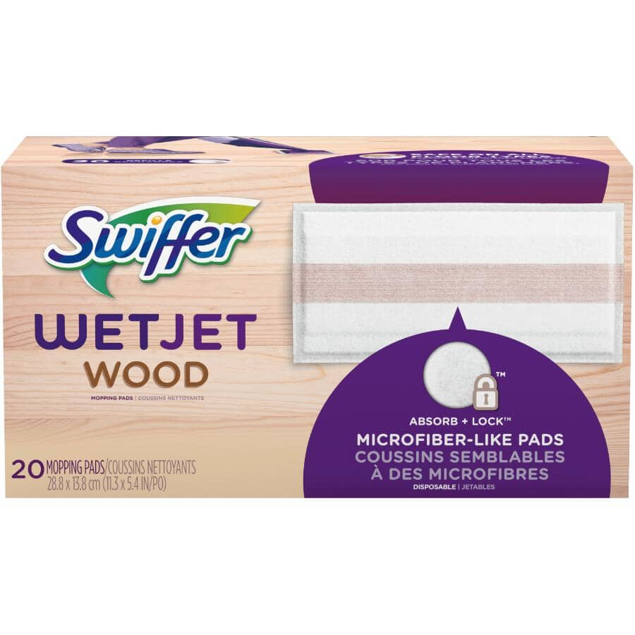 SWIFFER:WetJet Wood Cloth Refills - 20 Pack