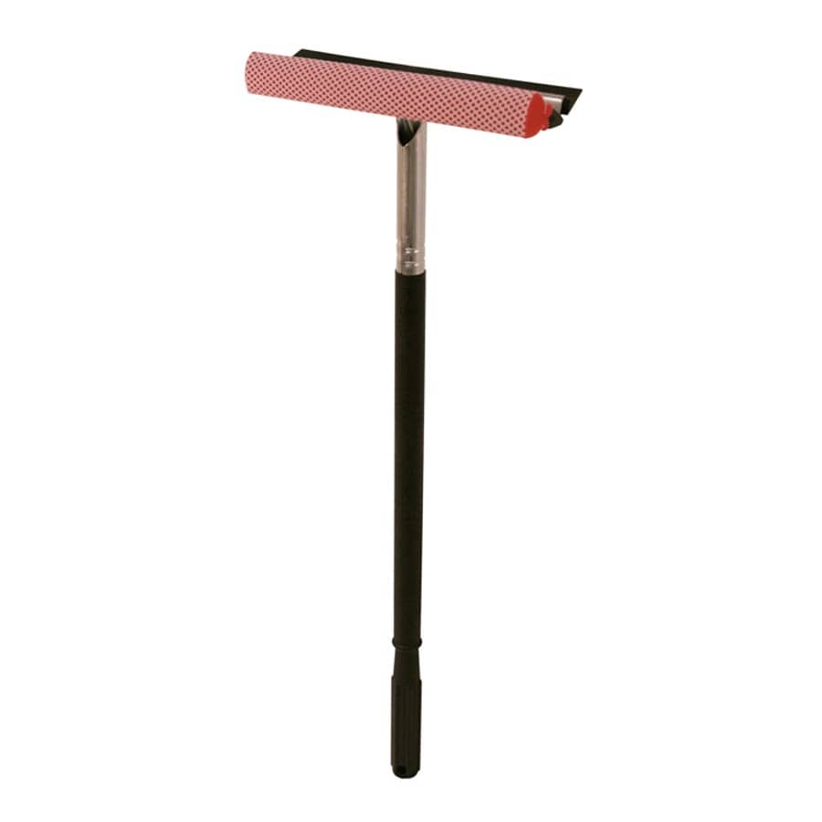 """MALLORY:10"""" Black Window Washer with Handle"""