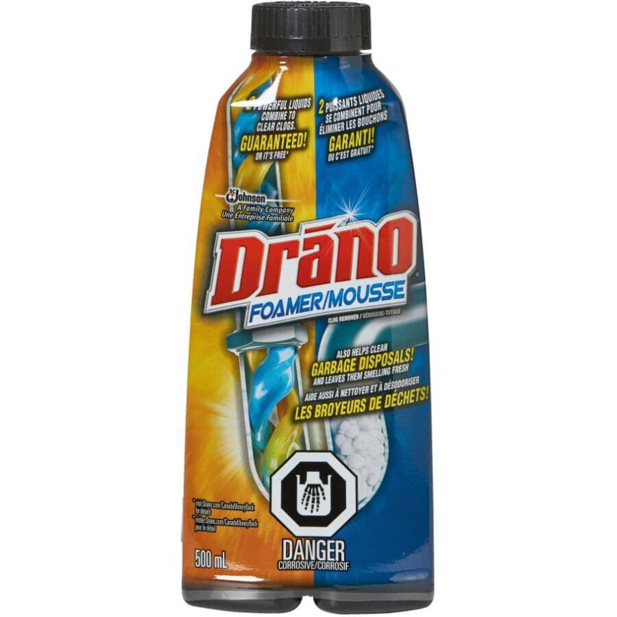 DRANO:500mL Foam Drain Cleaner
