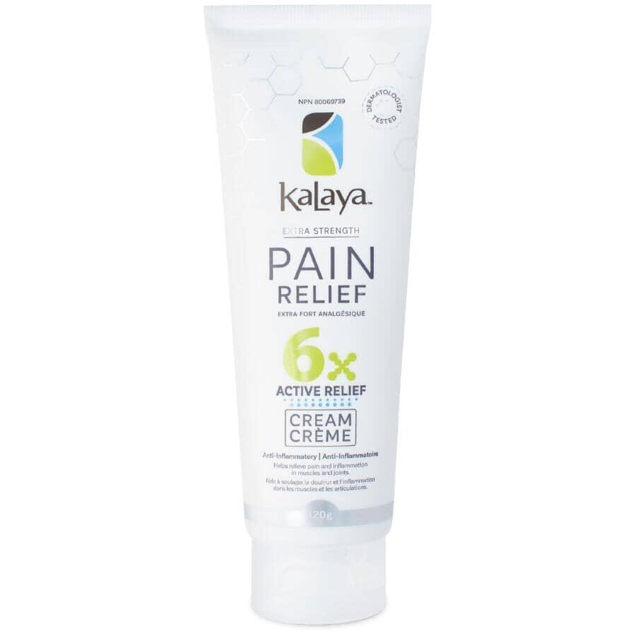 KALAYA NATURALS:Crème analgésique extra-puissante, 120 g