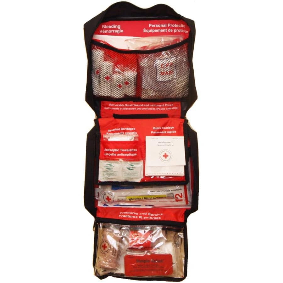CANADIAN RED CROSS:Deluxe First Aid Kit - 105 Pieces