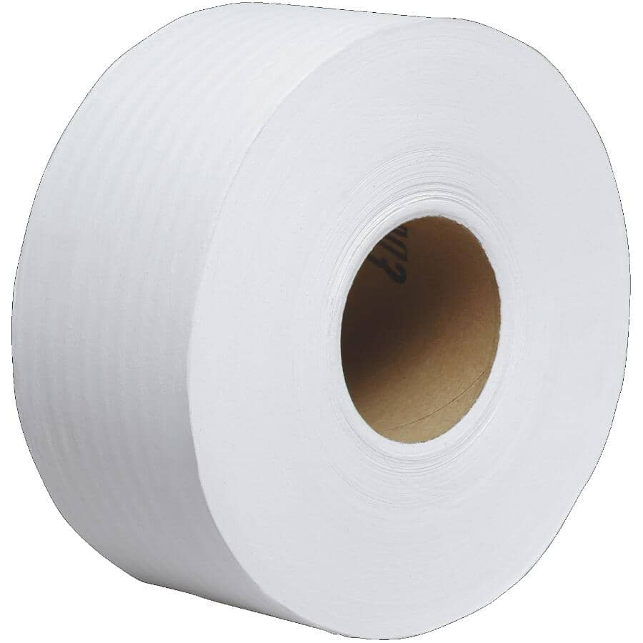 SCOTT:2 Ply Jumbo Toilet Paper - 1000', 12 Rolls