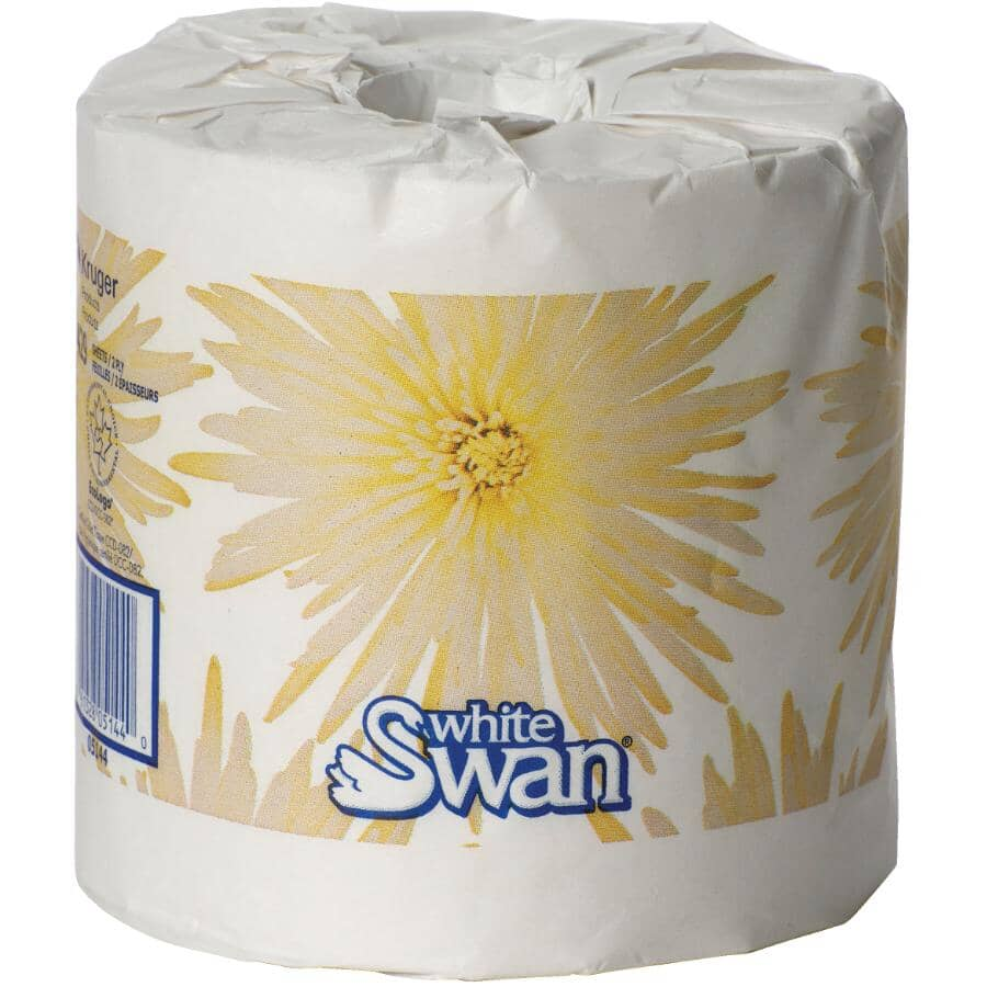 WHITE SWAN:2 Ply Toilet Paper - 429 Sheets, 48 Rolls