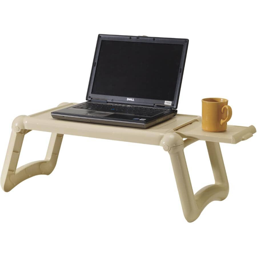 DURA:Beige Portable Laptop/Meal Tray