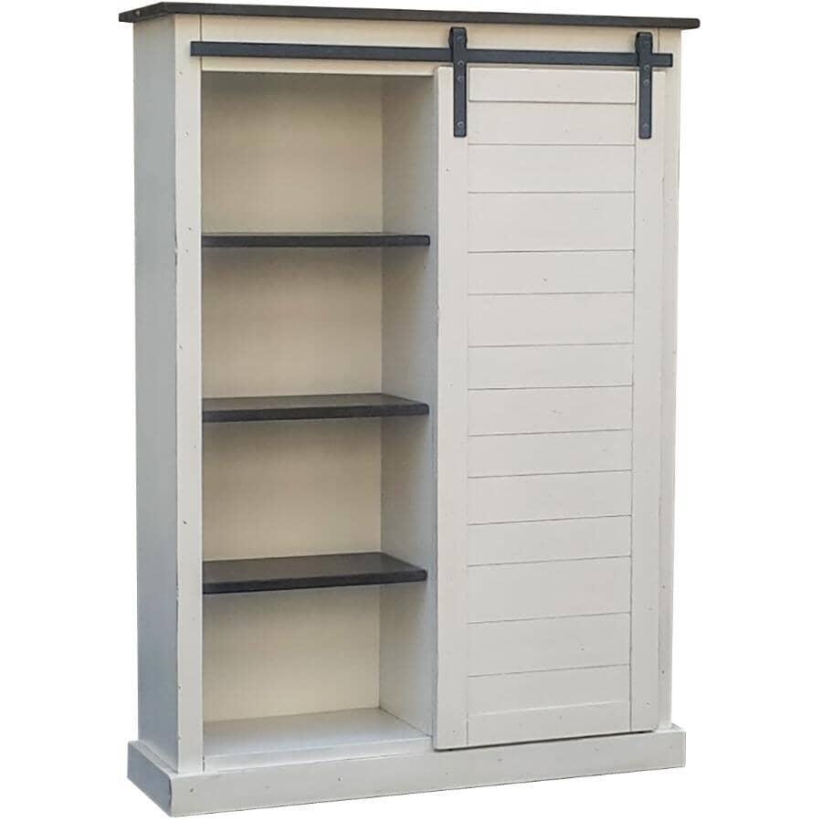 SUNNY DESIGNS:European Cottage Cabinet, with Barn Door
