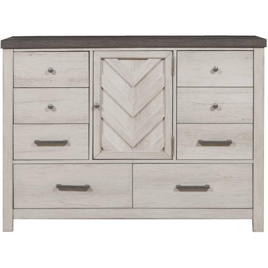 SAMUEL LAWRENCE FURNITURE:Riverwood Bureau Dresser - White