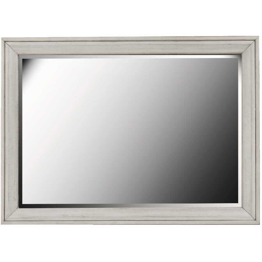 SAMUEL LAWRENCE FURNITURE:Riverwood Bureau Dresser Mirror - White