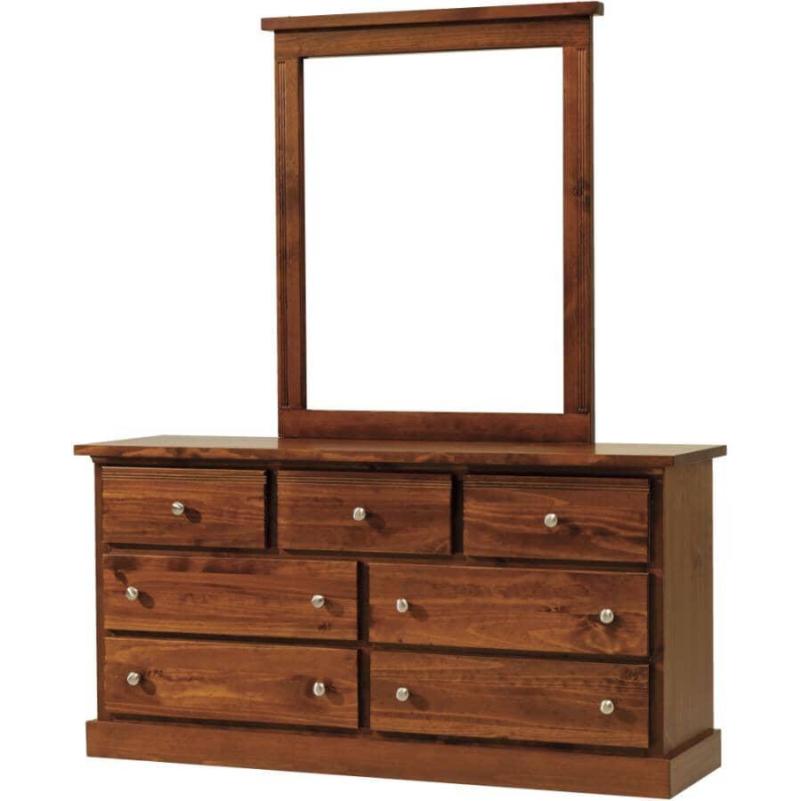 MAKO:7 Drawer Decora Mahogany Dresser