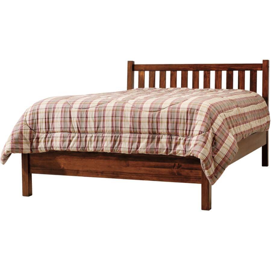 MAKO:Mahogany Soho Queen Size Bed