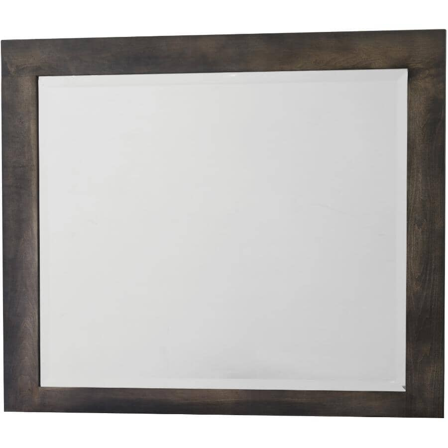 """BENCHWAY:42.75"""" x 35.37"""" Graphite Mirabel Dresser Mirror"""