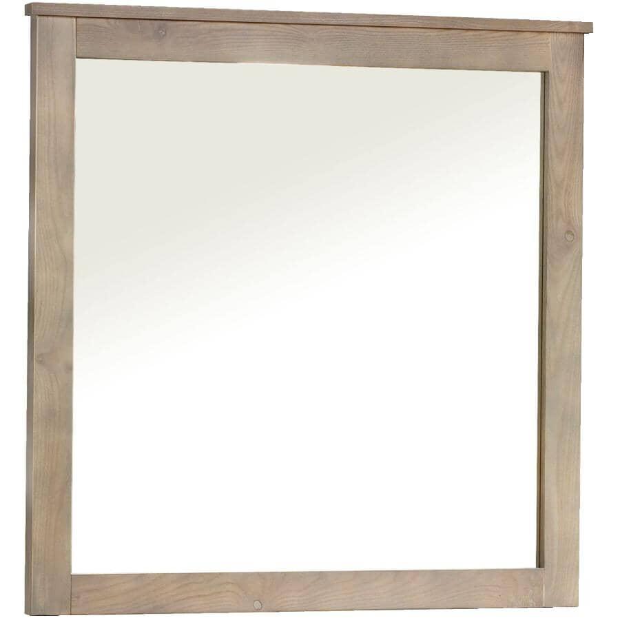 MEUBLES ARBOIT-POITRAS:Ranch Dresser Mirror - Weathered Grey