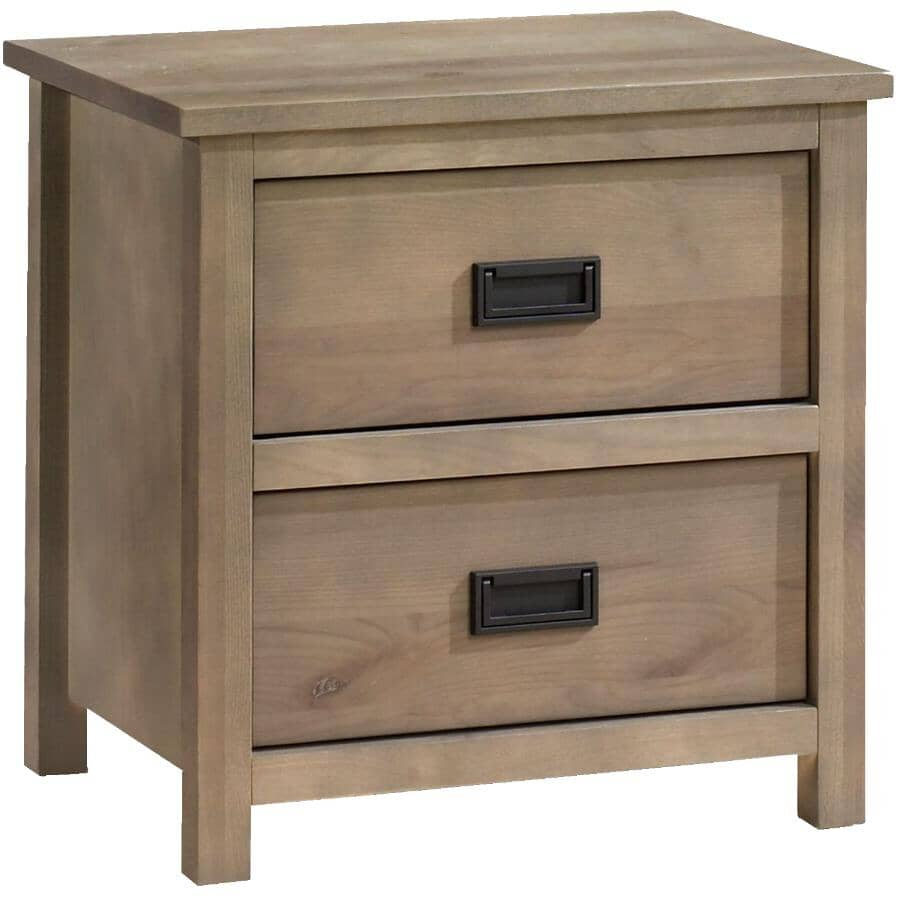 MEUBLES ARBOIT-POITRAS:Ranch Night Stand - Weathered Grey