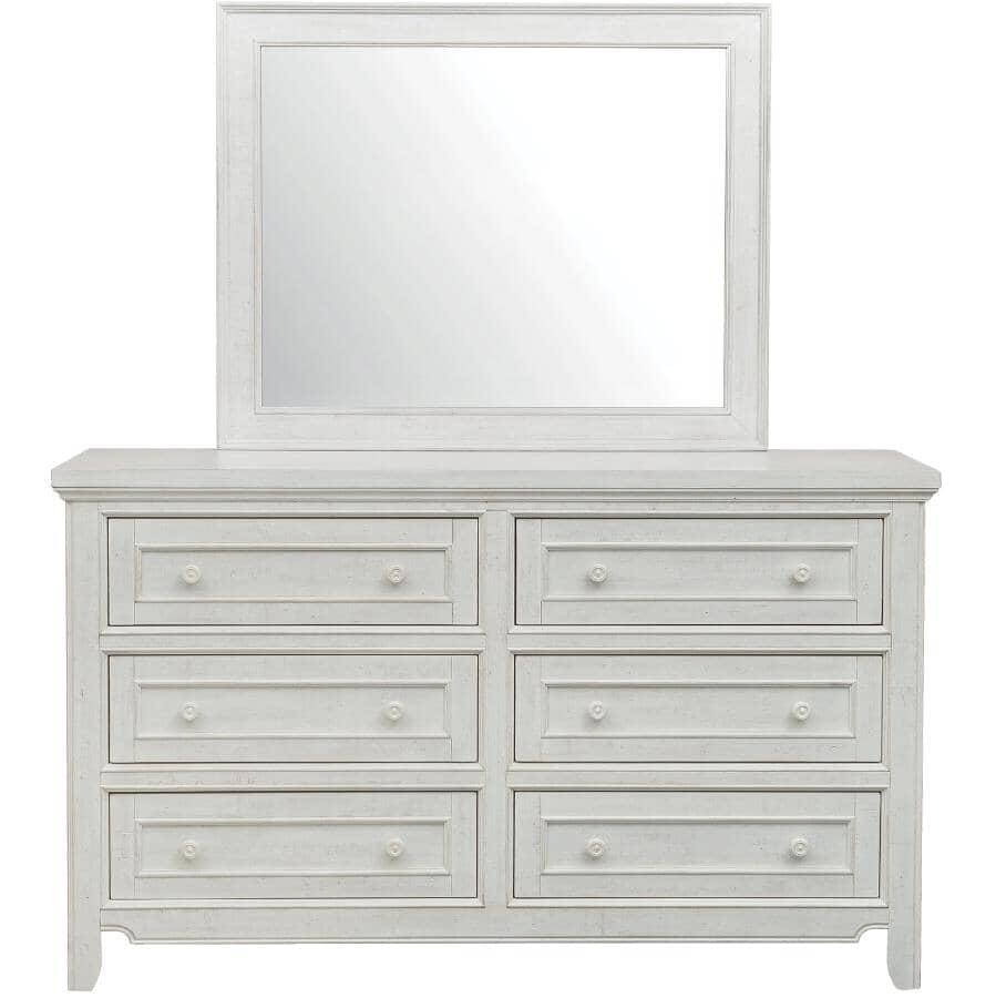 SAMUEL LAWRENCE FURNITURE:Hampton Dresser - Antique White