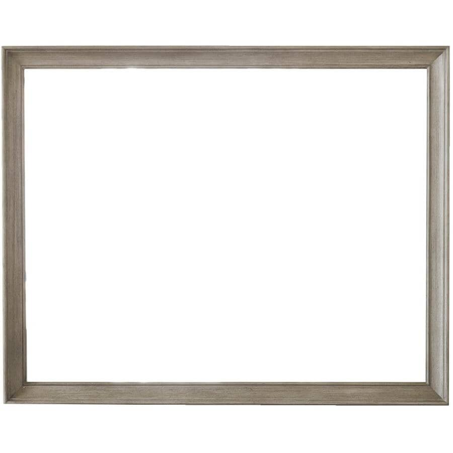 SAMUEL LAWRENCE FURNITURE:Modern Farmhouse Mirror - Distressed Grey