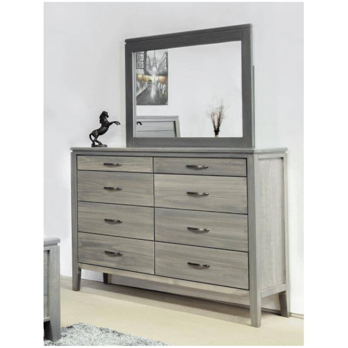 """MAKO:42"""" x 36"""" Sand Robina Dresser Mirror"""