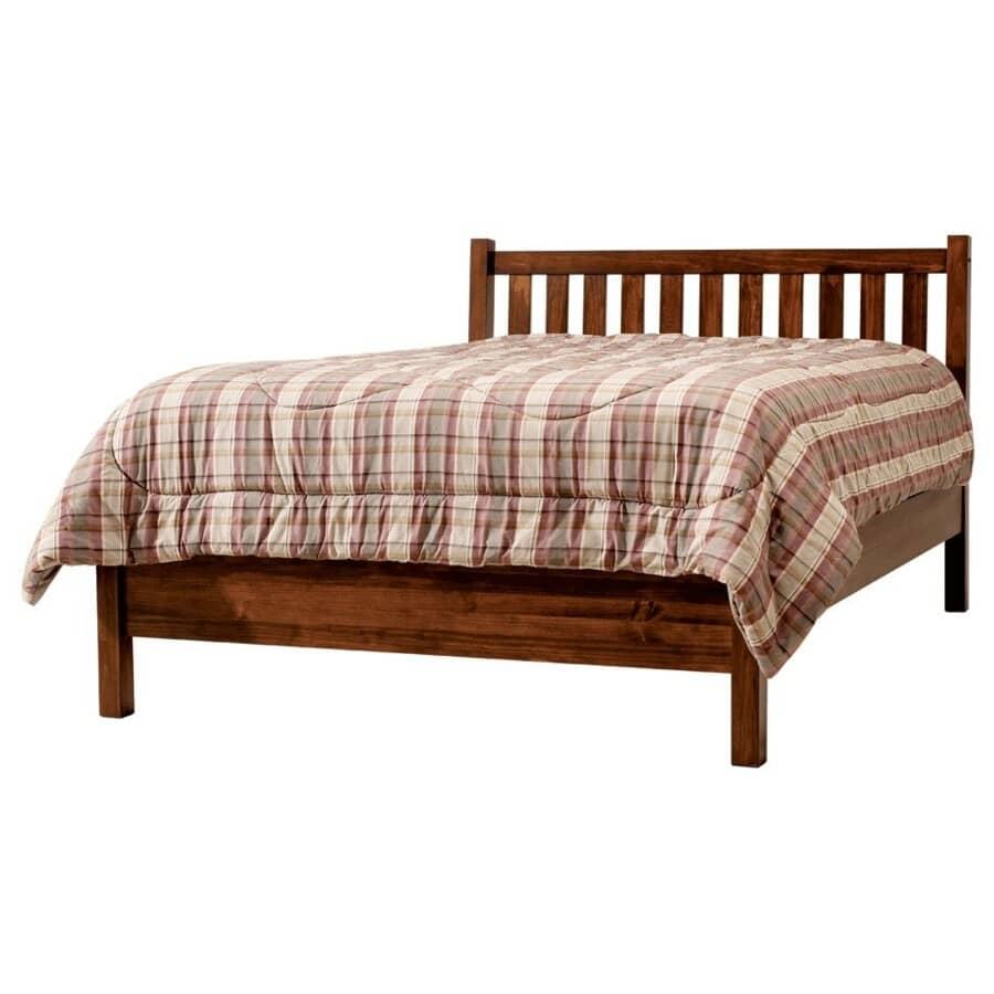 MAKO:Mahogany Soho Double Size Bed