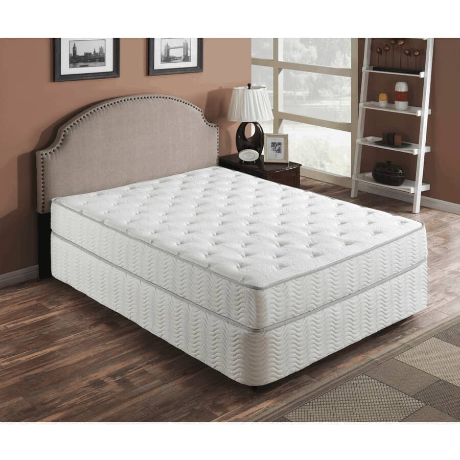 """PRIMO INTERNATIONAL:Queen 9"""" Galaxy Pocket Coil Bed-In-A-Box Mattress"""