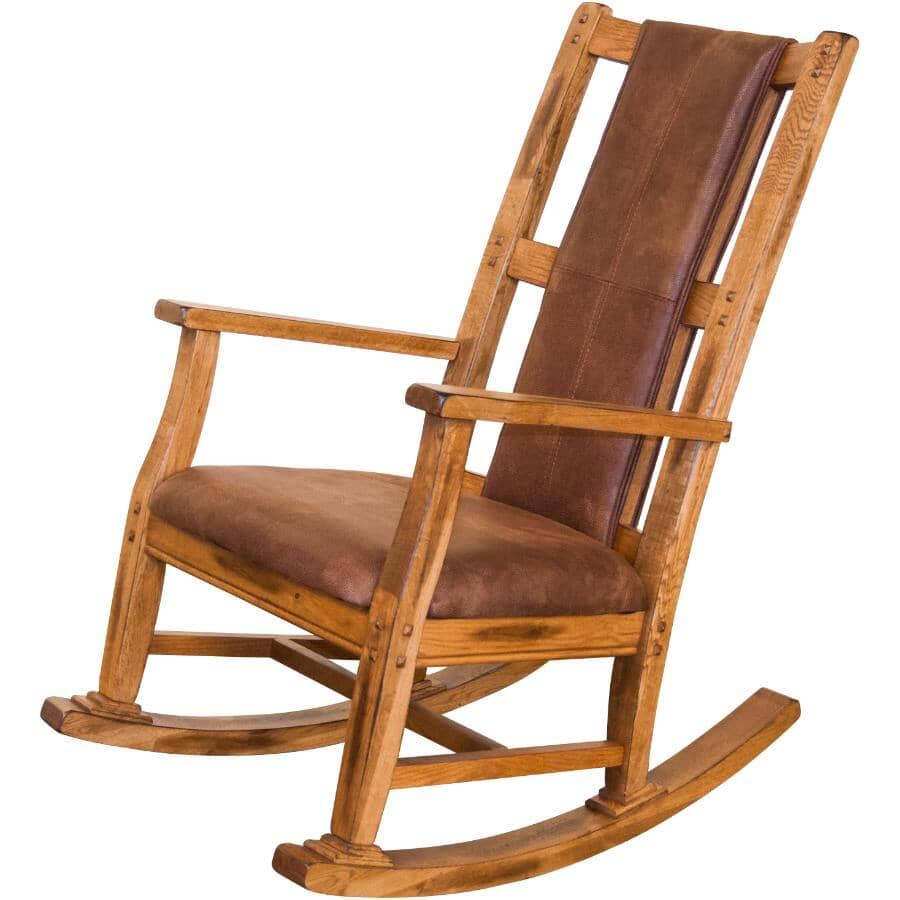 SUNNY DESIGNS:Rustic Oak Sedona Rocker