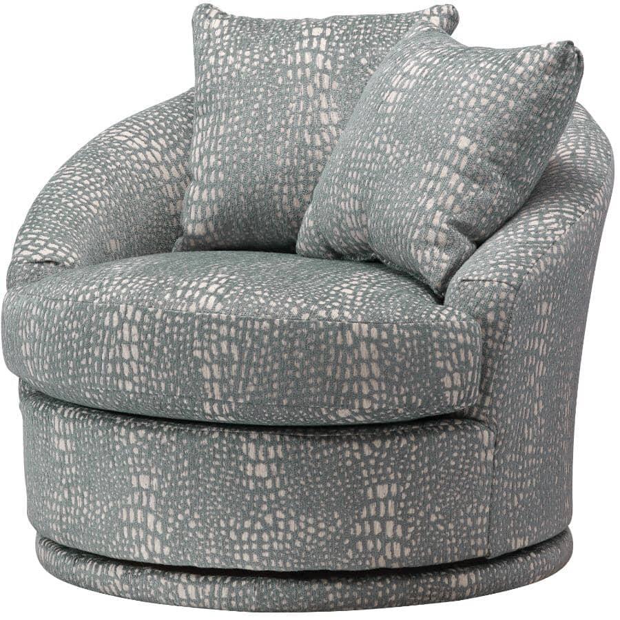 BEST HOME FURNISHINGS:Alanna Slate Swivel Chair