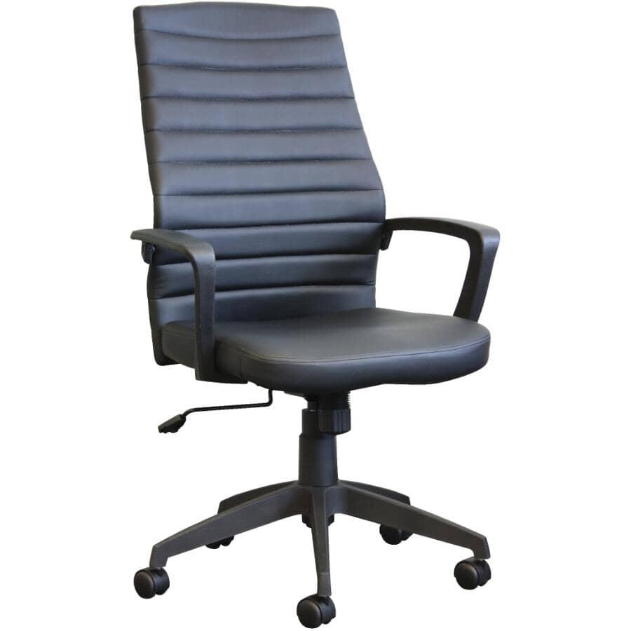 CANERGO:Modern Office Chair - Black