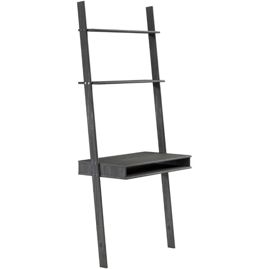 GATEWAY CREATIONS:Ladder Desk & Wall Unit - Espresso