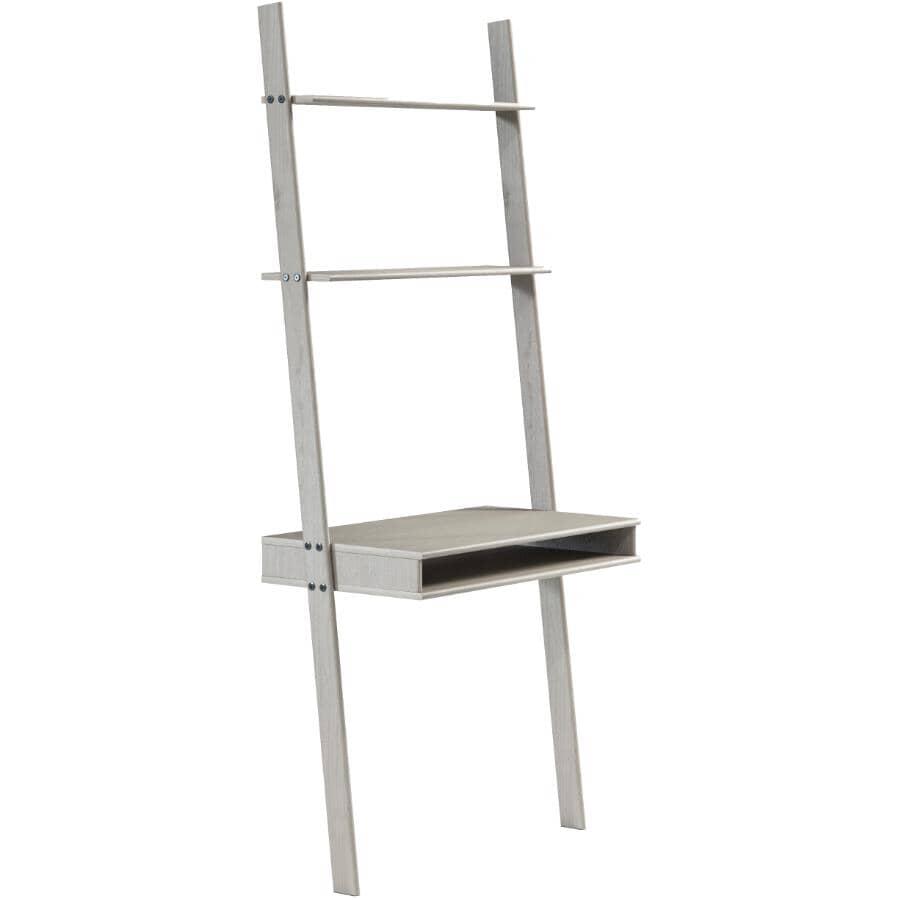 GATEWAY CREATIONS:Ladder Desk & Wall Unit - Grey