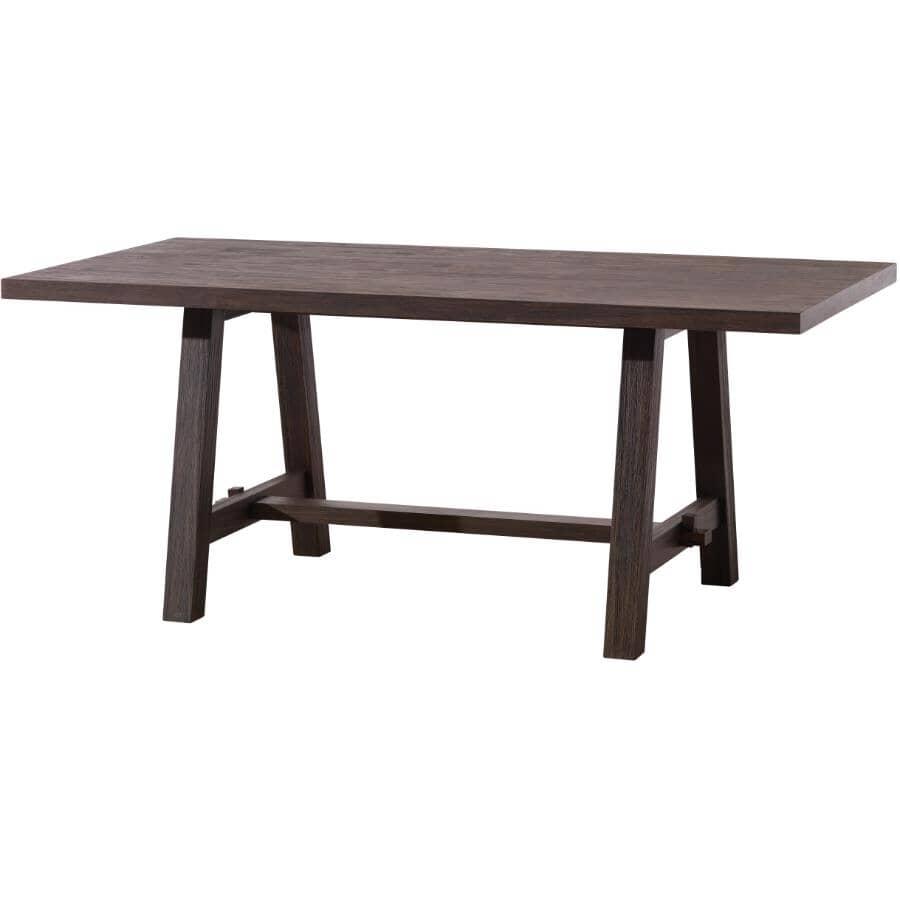 MAKO:Forest Black Adam Rectangular Dining Table