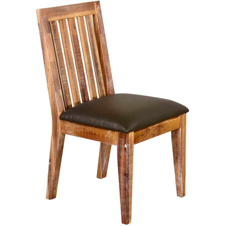 SUNNY DESIGNS:Havana Rustic Acacia Slatback Side Chair