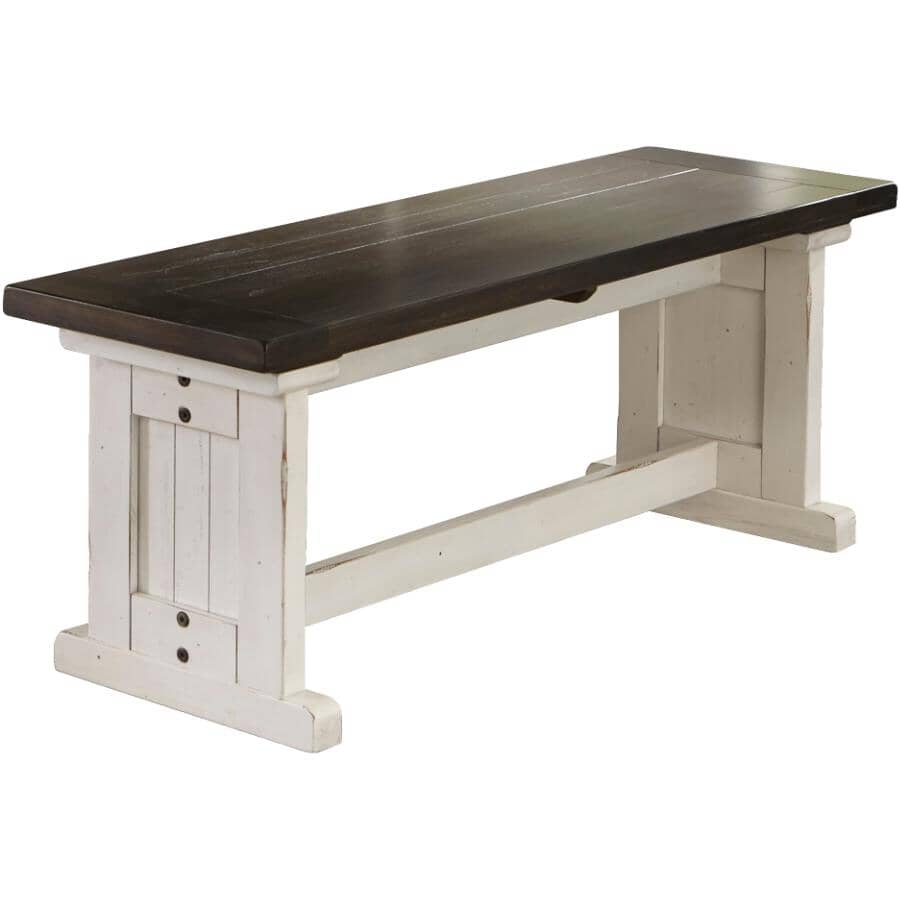 SUNNY DESIGNS:Carriage House Side Dining Bench