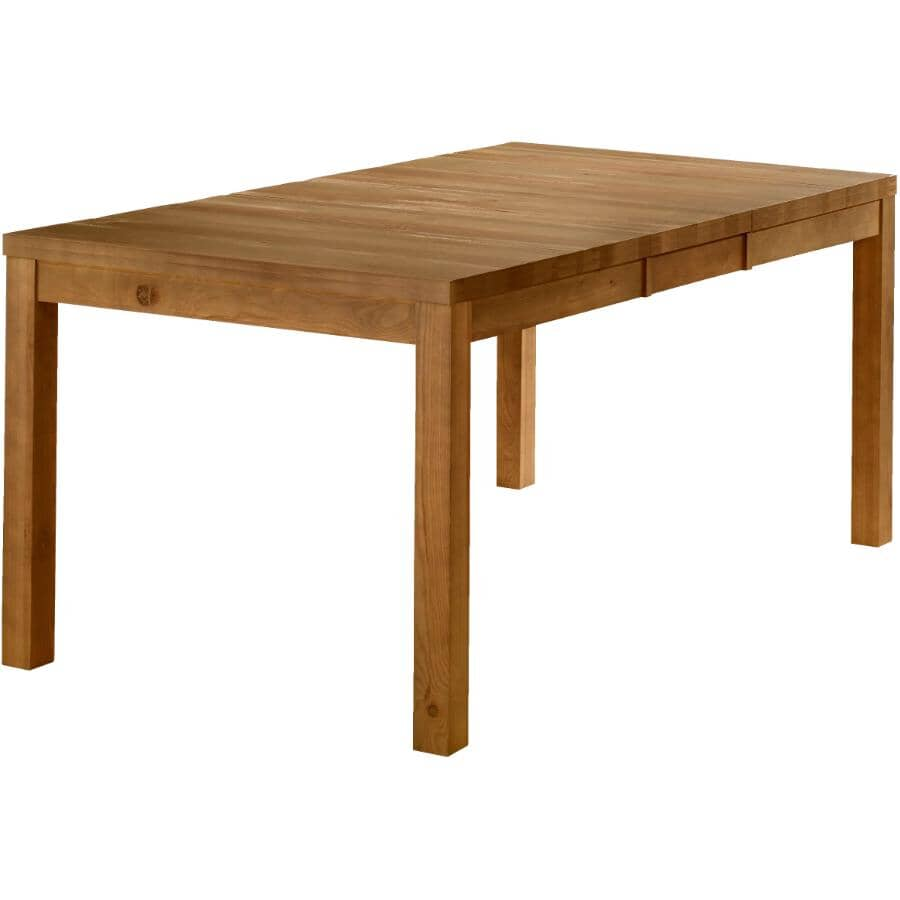 MEUBLES ARBOIT-POITRAS:Rustic Dining Table - Weathered Walnut