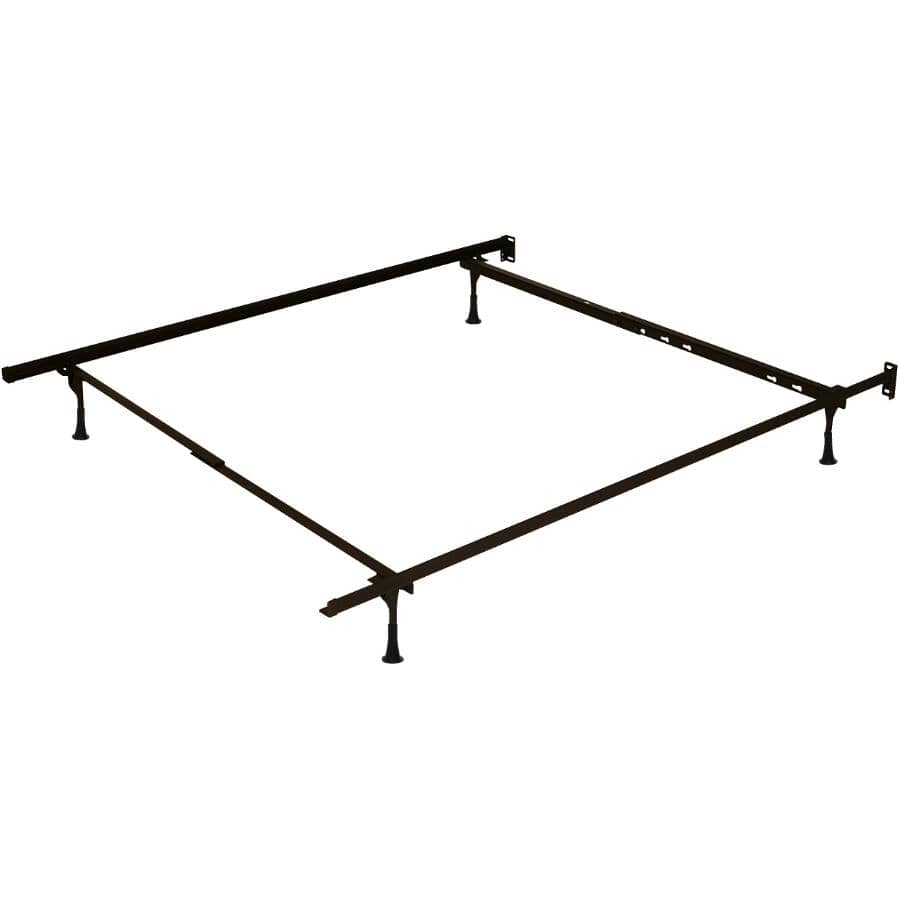 """BEAUDOIN:39"""" to 54"""" Brown Bed Frame"""