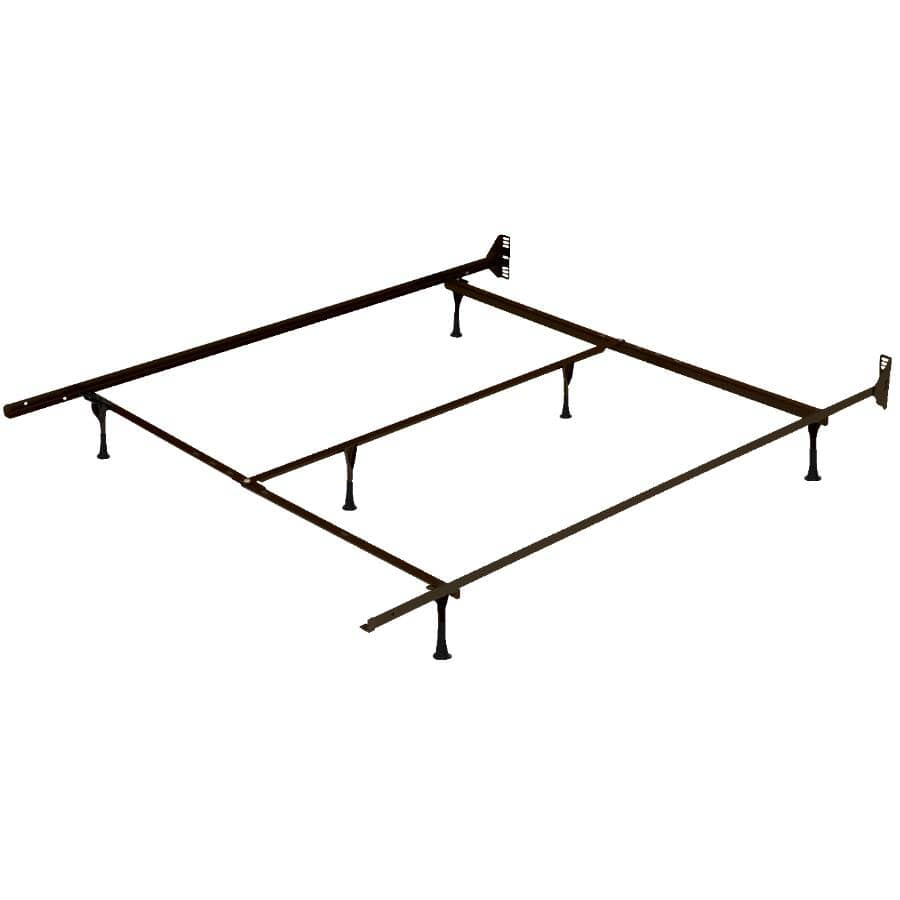 """BEAUDOIN:39"""" to 60"""" Brown Bed Frame"""