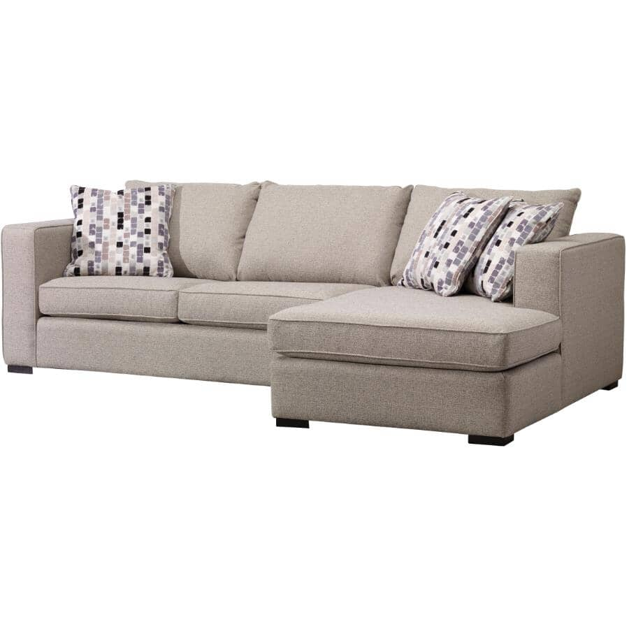 DECOR-REST FURNITURE:2 Piece Sand Force Sectional