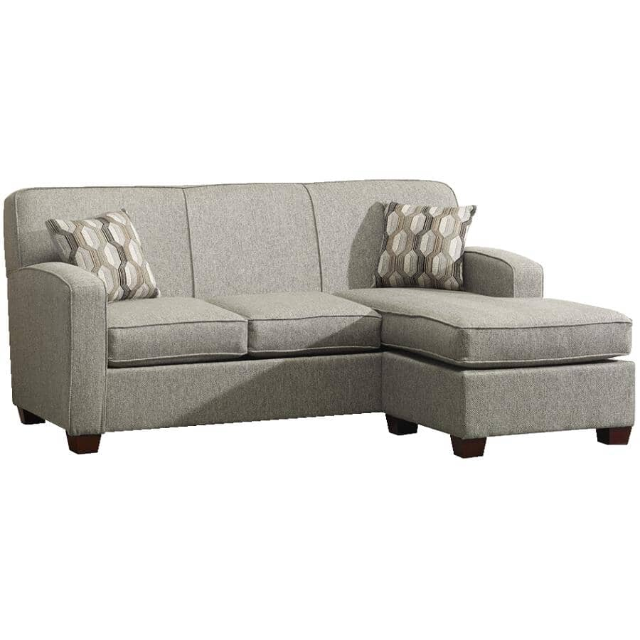 PAIANO:Downtown Grey Sofabed, with Chaise