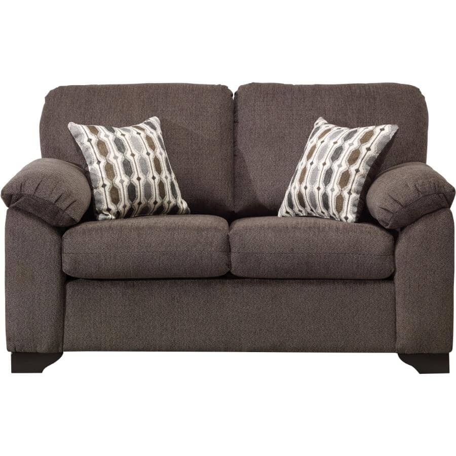 PAIANO:Charcoal Davos Loveseat