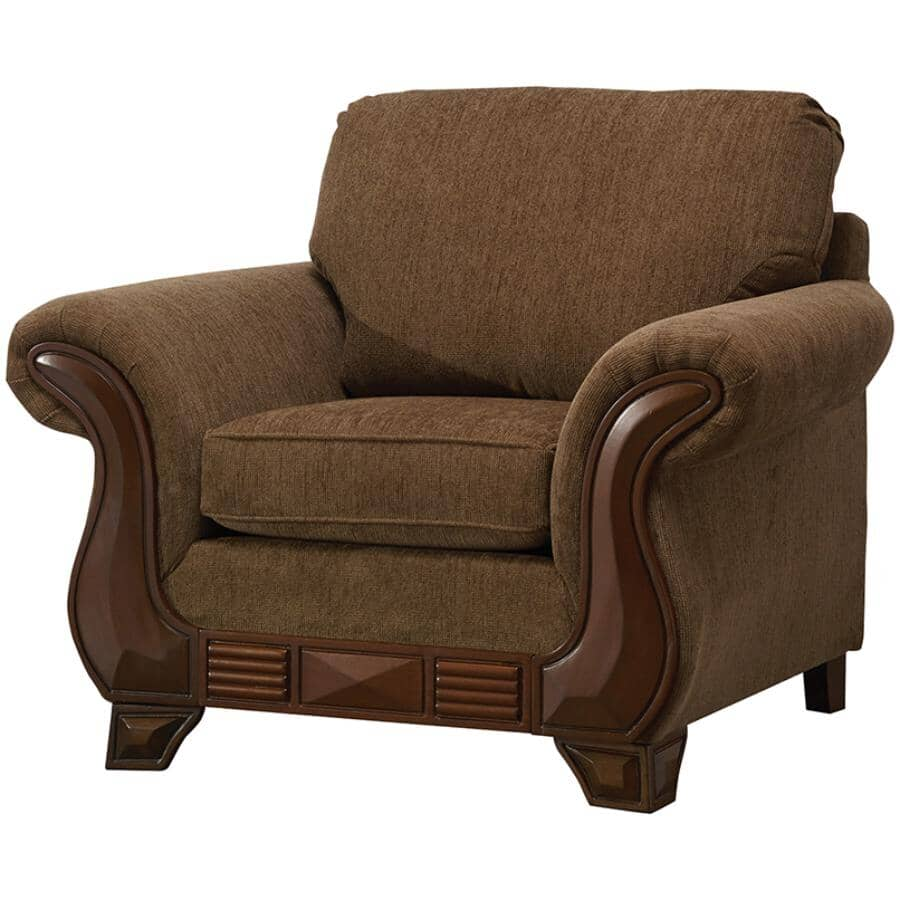 PAIANO:Khaki Brown Simplicity Chair