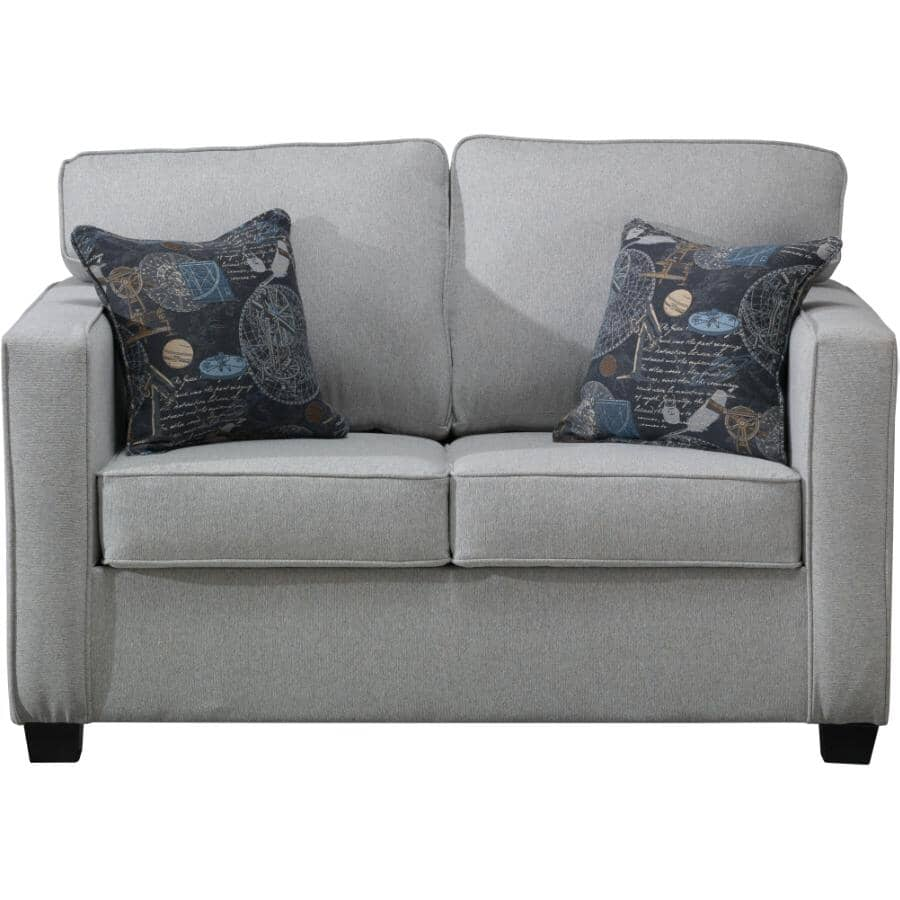 AMAN FURNITURE:Red Red Wine 61 Loveseat