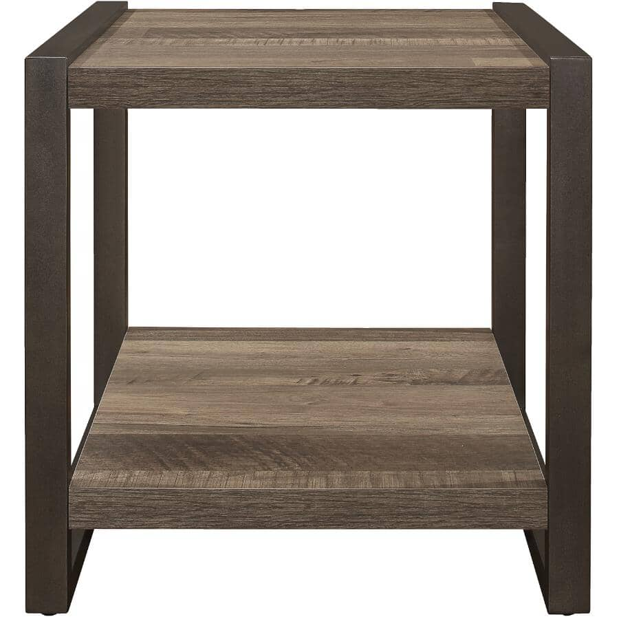 MAZIN FURNITURE:Dogue End Table