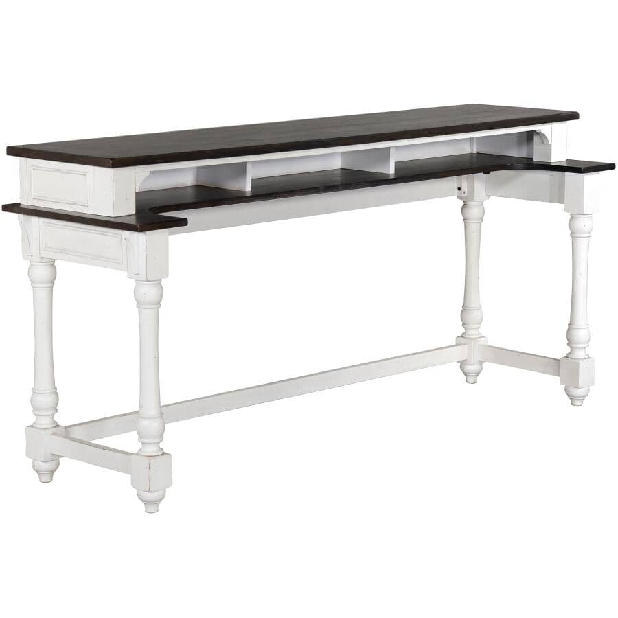 SUNNY DESIGNS:European Cottage Rectangular Sofa Table