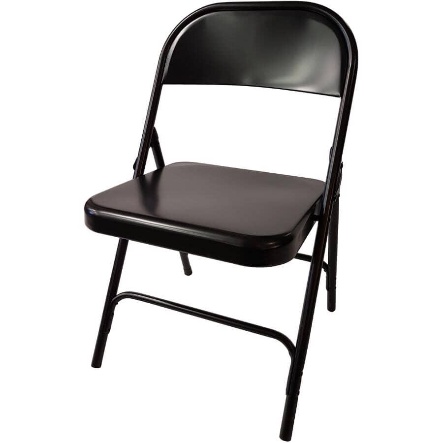 DURA:Black Folding Chair