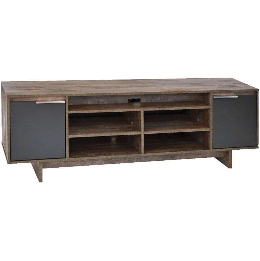 """NOUVEAU CONCEPT:72"""" TV Stand in Whisky Finish"""